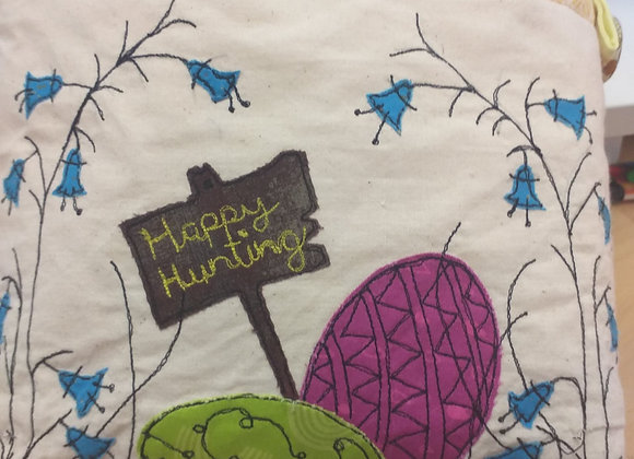 Easter Basket - Free Motion Embroidery Kit