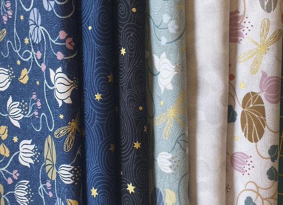 6 x half meter Lewis and Irene fabrics