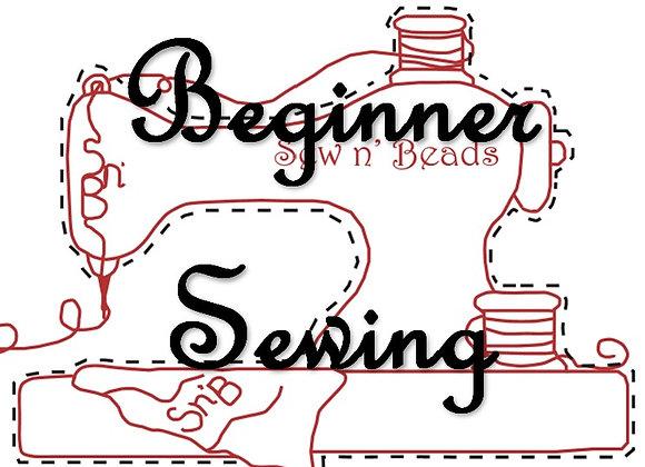 Online - Beginner Sewing