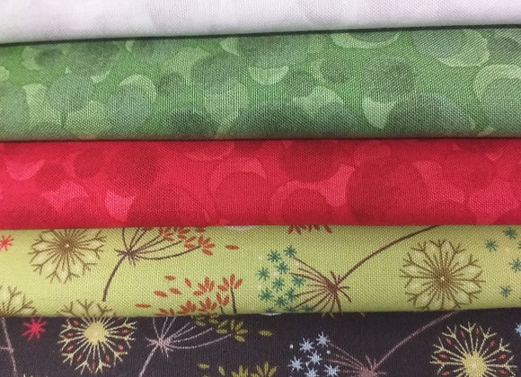 Fat Quarter Floral Bundle