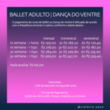 Ballet e Dança do Ventre