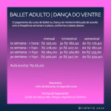 Ballet e Dança do Ventre