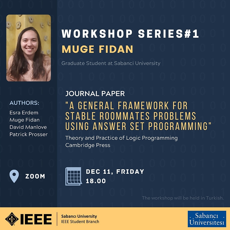 Workshop Serisi#1: Müge Fidan