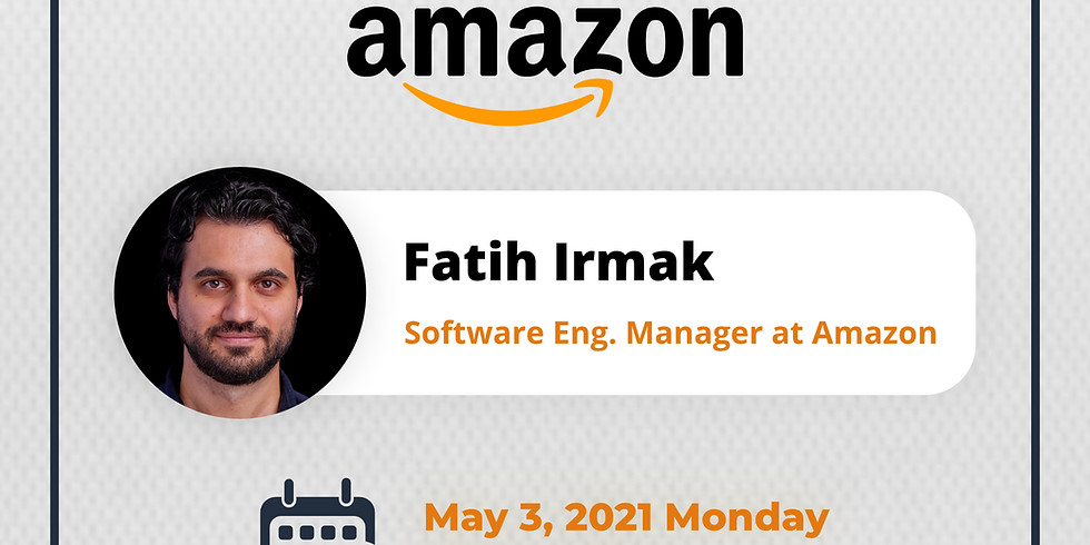 INSPIRE TALKS #4: Fatih Irmak - Sabancı, Amazon
