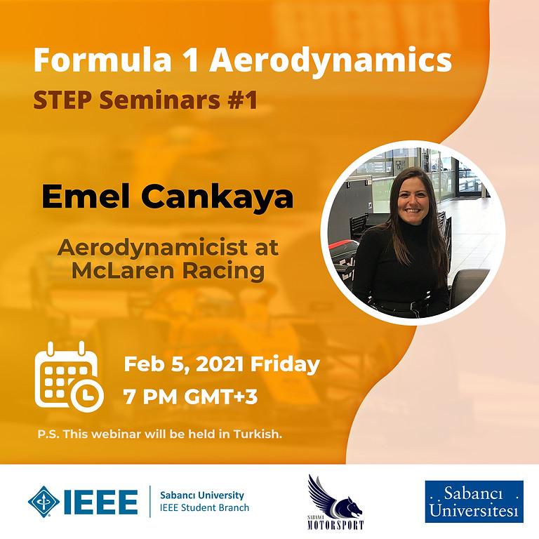 STEP Seminerleri#1: Formula 1 Aerodynamics and McLaren Racing