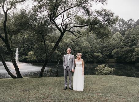 TJ + Lauren Morris Peaceland Farm Rainy Wedding | Raleigh, NC