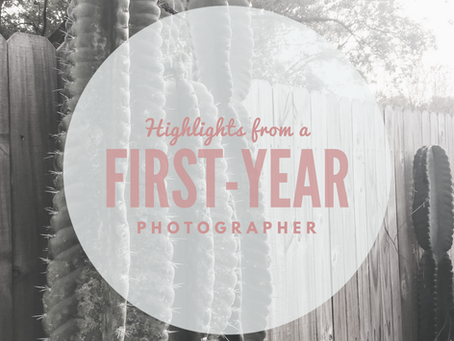 Highlights from a First-year Photographer