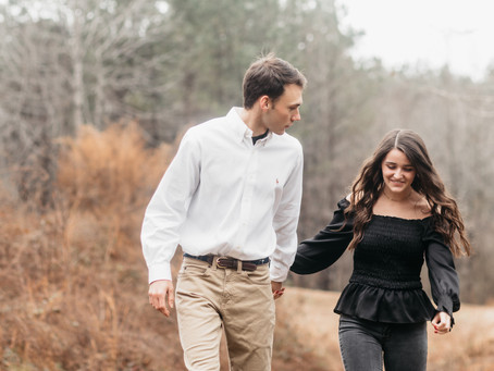 Campbell's Covered Bridge - Greer, SC | Engagement Session