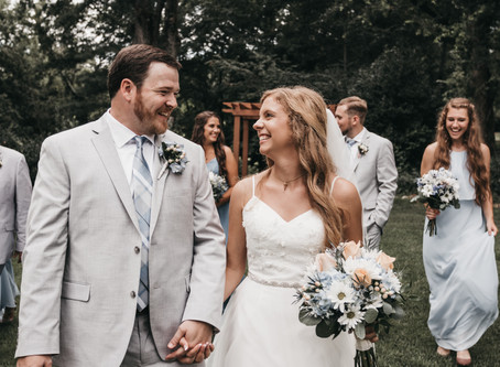 Alex + Mary-Paige | Sleepy Hollow Clemson, SC Wedding