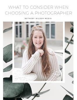 What to Consider When Choosing a Photogr