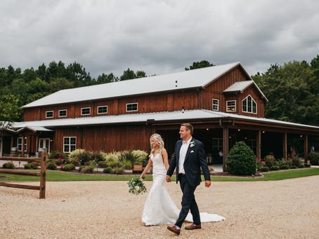 Southern Chic Wedding // George Wayne + Kimberlyn