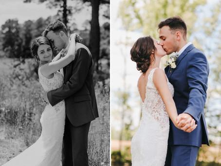 Rustic Chic Green & Rose Gold Wedding - Hayden + Lydia