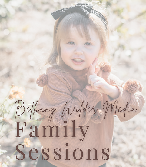 Family Session Guide Canva Template