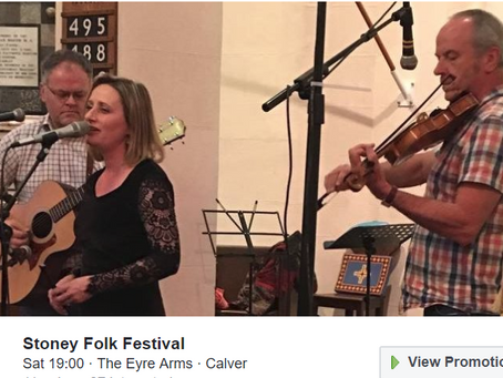 SMILE Folk Concert on Saturday 30th March