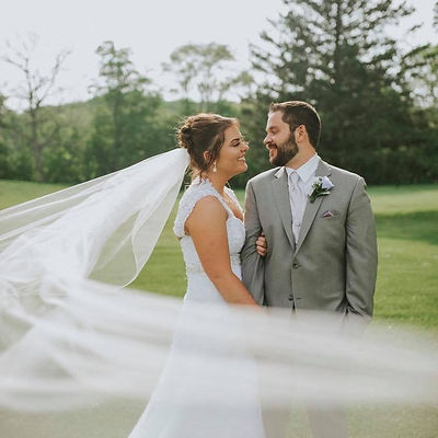Wedding Photo wih Veil