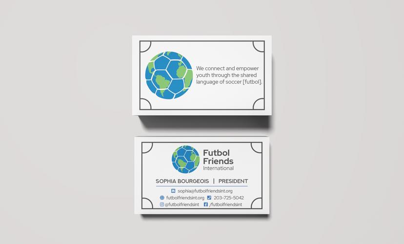 soccer themed business cards for soccer