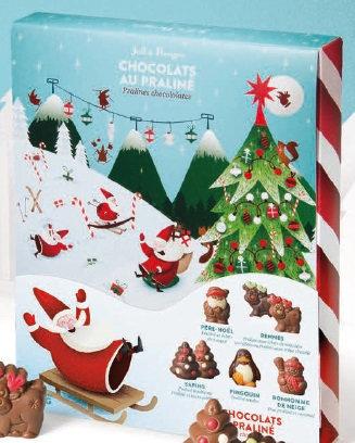 LES SUJETS de Noël - LA BOITE - 245 G NET