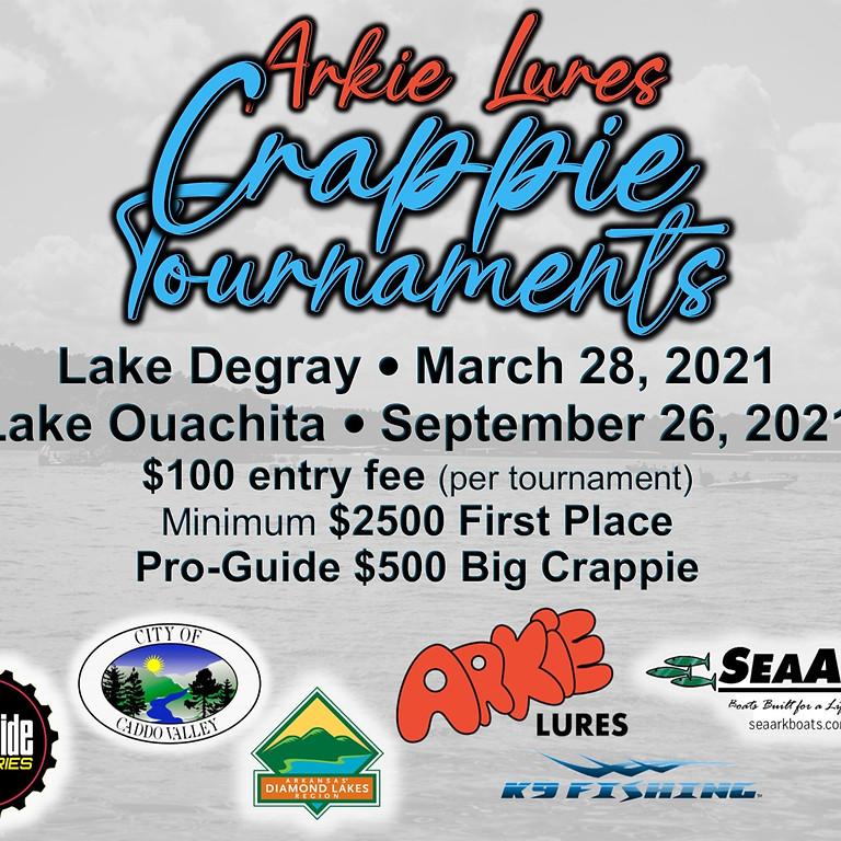 ArkieLures' Crappie Tournament - Ouachita