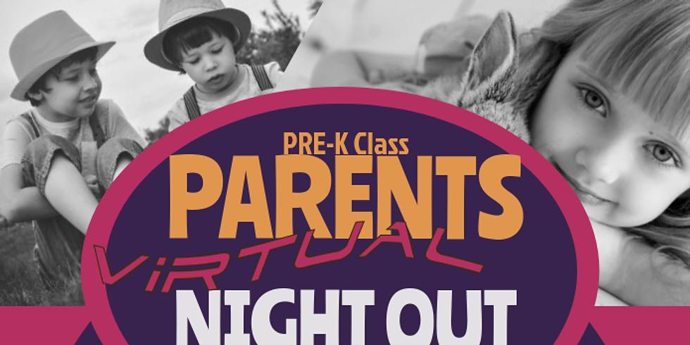 Pre-K Virtual Parent Night Out