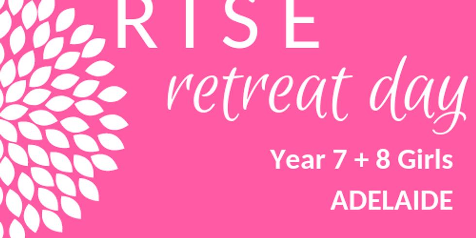 RISE Retreat GIRLS Year 7 + 8   Adelaide