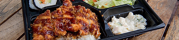 Rice and Katsu Dishes