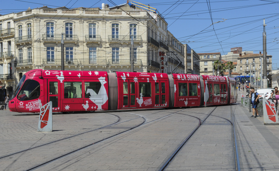 Tramway Montpellier French Tech Innovation Emploi travail Start-up