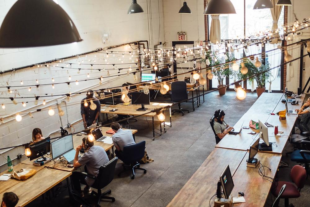 espace de coworking similaire à comenwork