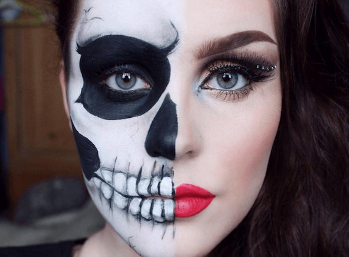 Face Paint Half Face
