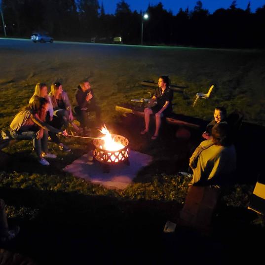 Young Adult Bonfire