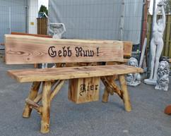 Gebb Ruw ! + Bierkasten