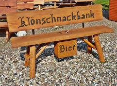Klömnschnackbank + Bier