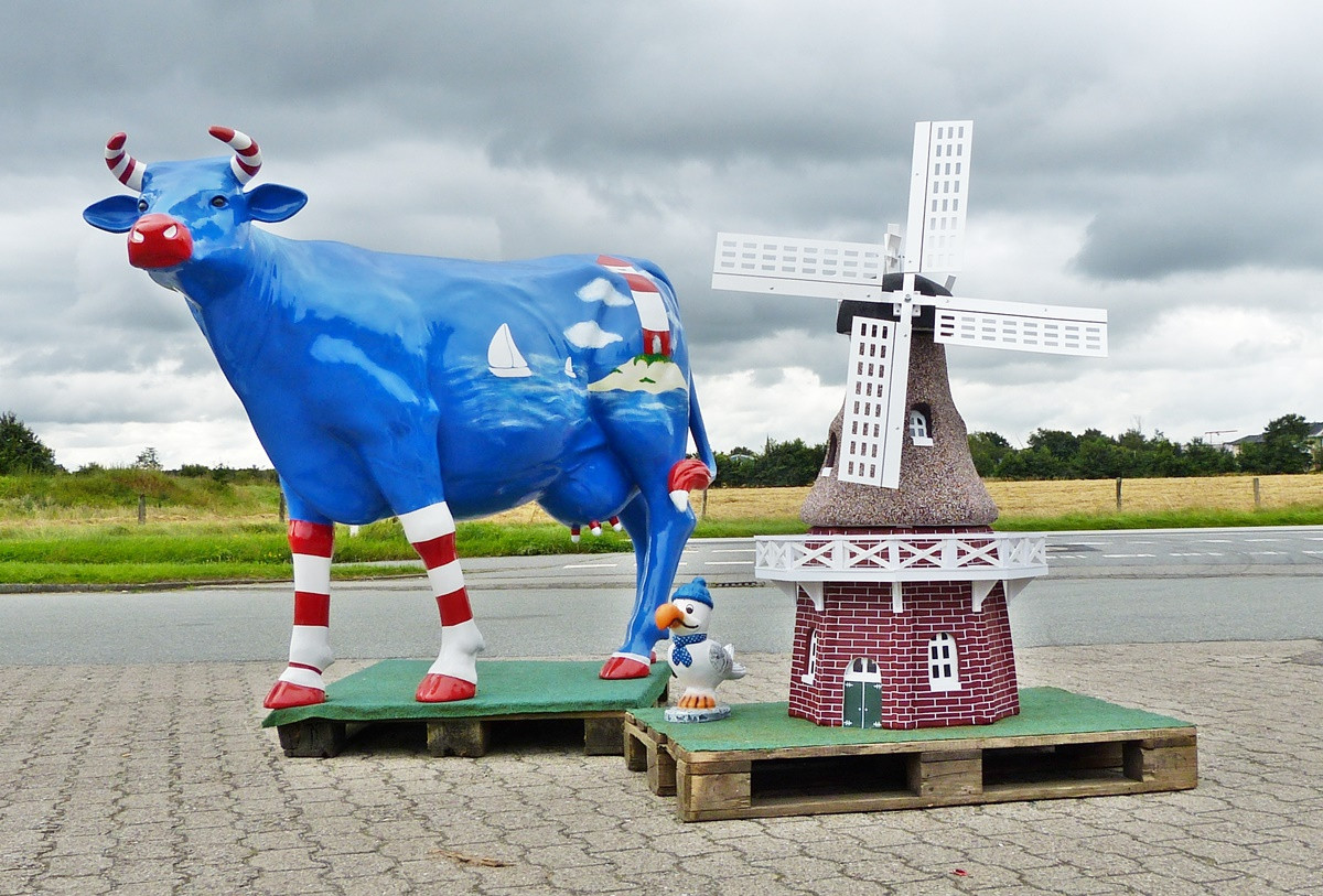 Mühle + Kuh