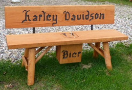 Harlay Davidson + Bier