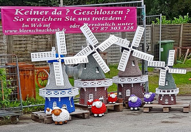Mühlen mit 3 Farben
