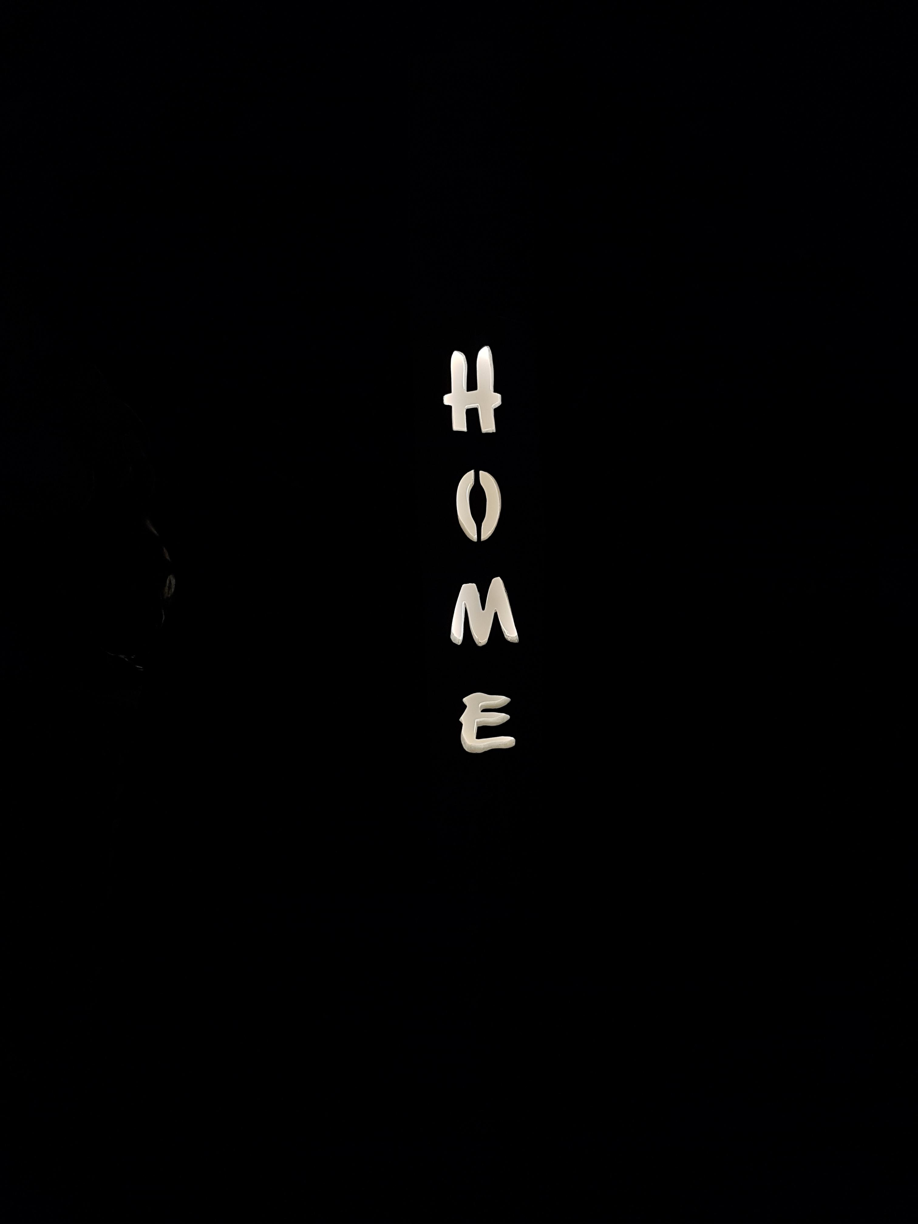 Türschild mit Beleuchtung (Nacht)