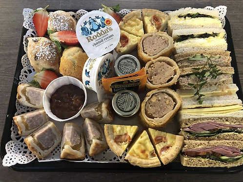Savoury Afternoon Tea Delivery Friday 5th March 2021