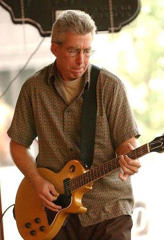 Jeff Andrews on guitar