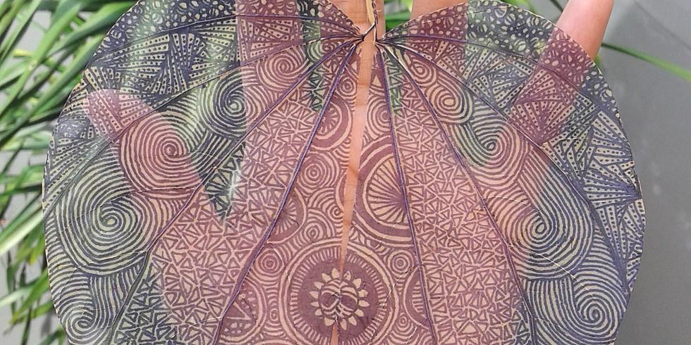Mindfulness Through Zentangle Mandala Drawing with Daundala Awicarita