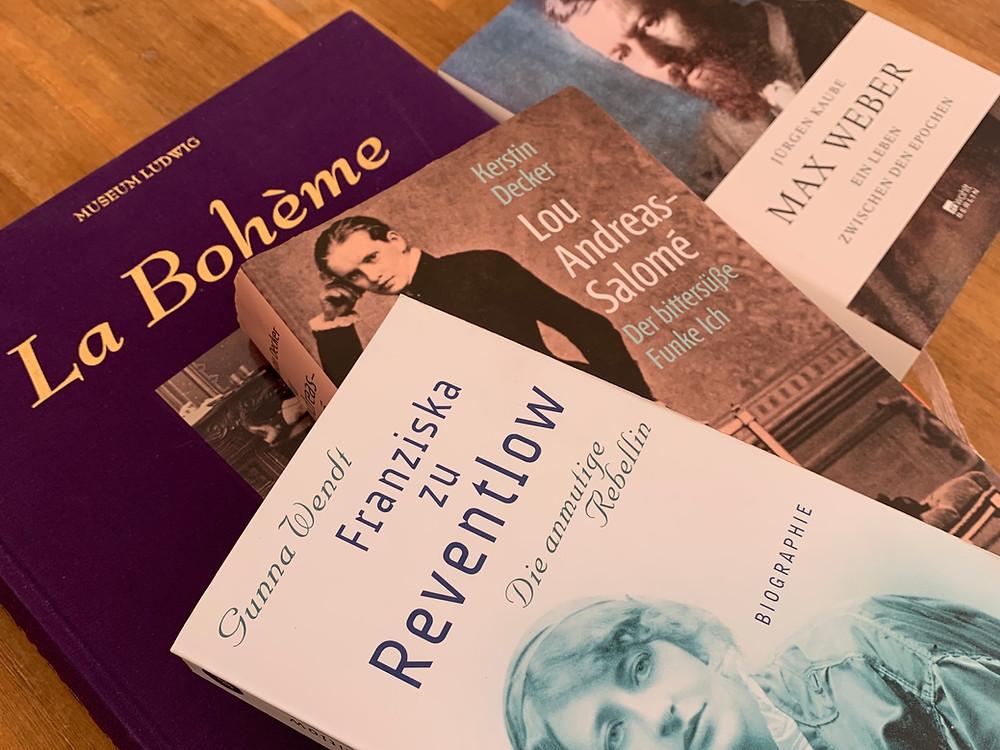 boheme, neue boheme, literatur, newwork, max weber, franziska zu reventlow, lou andreas-salome, bohemiens