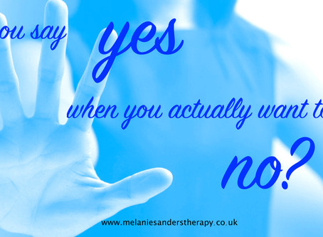 Do you say yes when you actually want to say no?