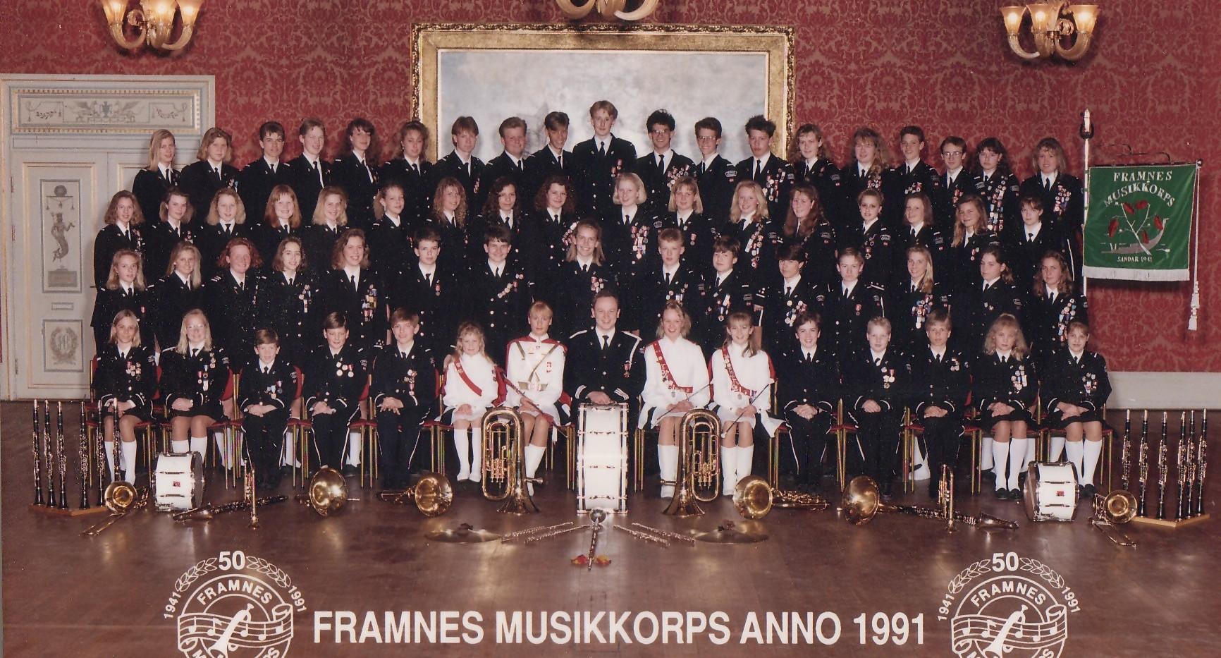 1991 - 50 ar - Hovedkorps.jpg