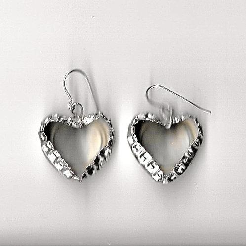 KITSCH HEART BOTTLE CAP EARRINGS