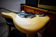 1978 Fender Strat. Rosewood, Black pickguard