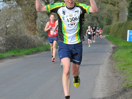 Cheshire 10K - a new PB!