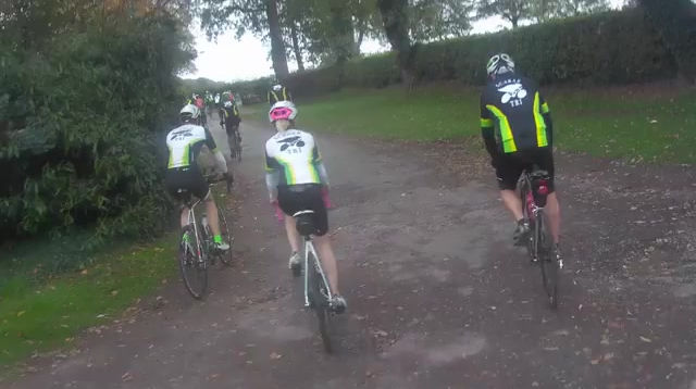 A group ride in late 2018 in memory of a club mate
