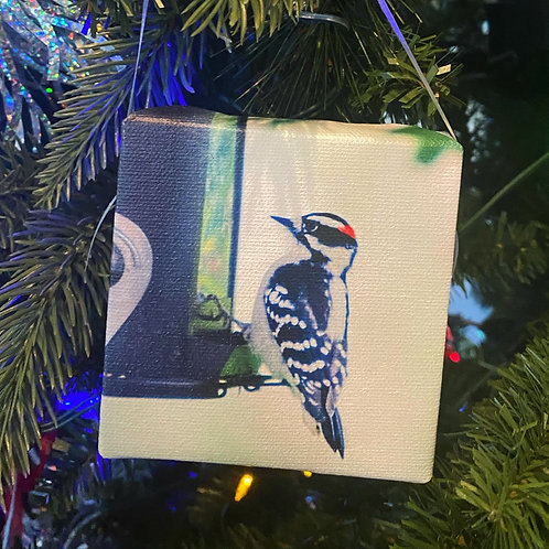 WOODPECKER  Ornament 2020 Collection
