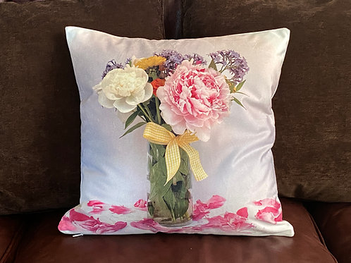 Peony Pillow Shelly Lawler Pillow Collection