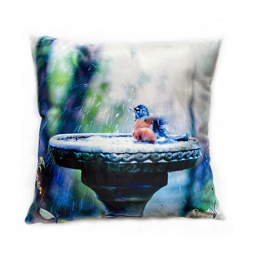 Robin Splash Bath Pillow