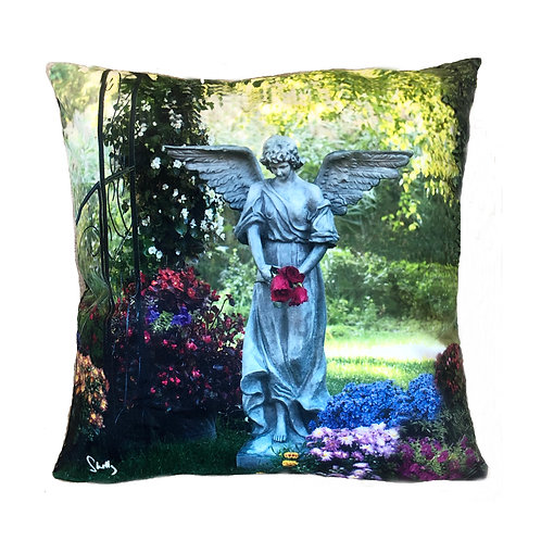 Garden Angel Pillow Shelly Lawler Collection