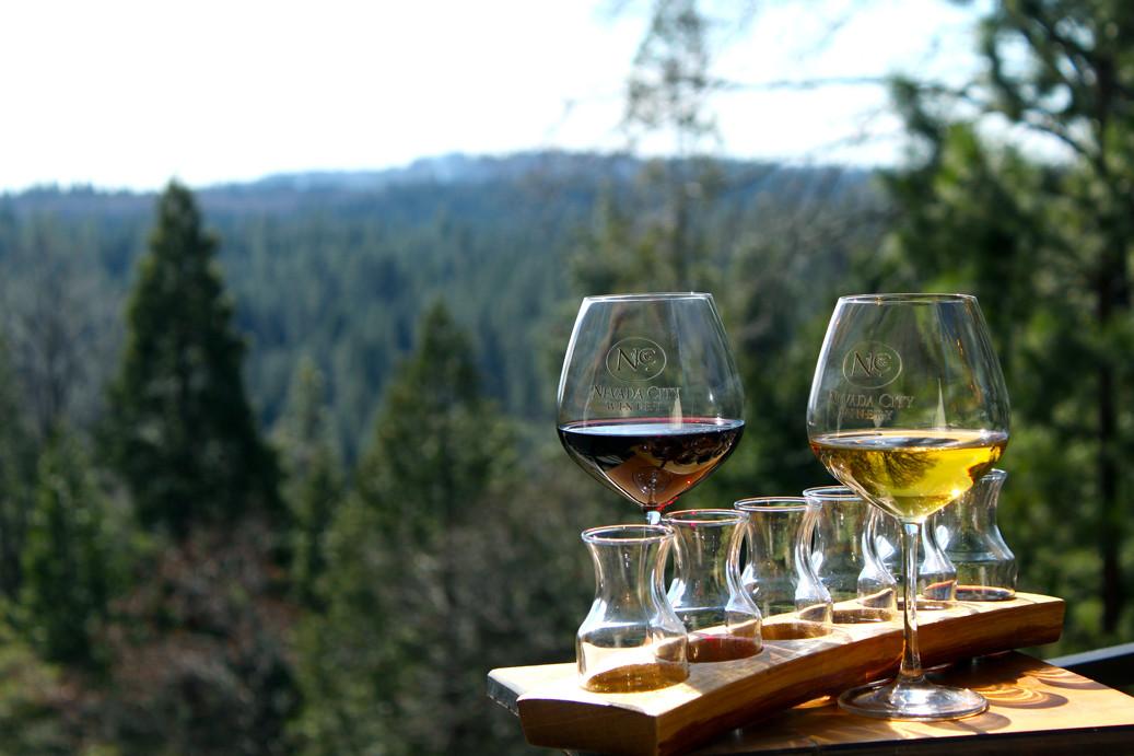 Wine Tasting in Nevada City